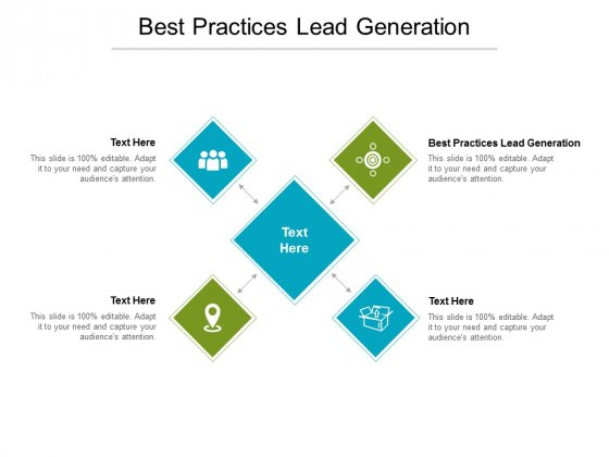Best Practices Lead Generation Ppt PowerPoint Presentation Icon Graphic Images Cpb