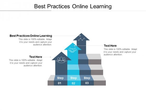 Best Practices Online Learning Ppt PowerPoint Presentation Model Graphics Download Cpb
