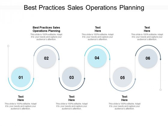 Best Practices Sales Operations Planning Ppt PowerPoint Presentation Show Elements Cpb Pdf