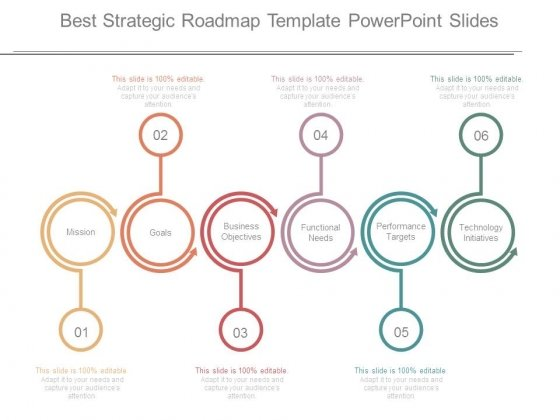 best strategic roadmap template powerpoint slides powerpoint templates