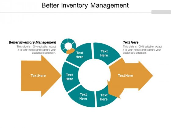 Better Inventory Management Ppt PowerPoint Presentation Icon Smartart Cpb