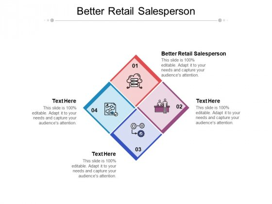 Better Retail Salesperson Ppt PowerPoint Presentation Summary Information Cpb Pdf