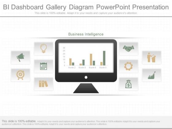 Bi Dashboard Gallery Diagram Powerpoint Presentation