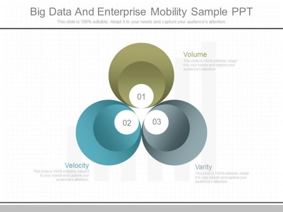 Big Data And Enterprise Mobility Sample Ppt