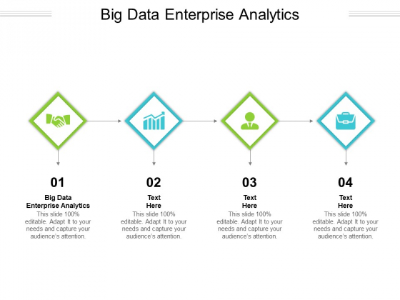 Big Data Enterprise Analytics Ppt PowerPoint Presentation Infographics Background Images Cpb Pdf