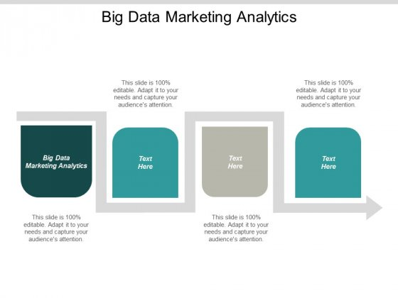 Big Data Marketing Analytics Ppt Powerpoint Presentation Ideas Templates Cpb