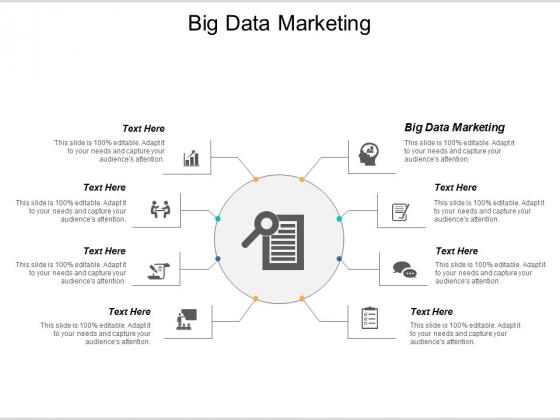 Big Data Marketing Ppt PowerPoint Presentation Microsoft Cpb