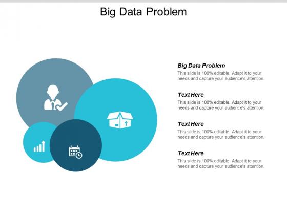 Big Data Problem Ppt PowerPoint Presentation Slides Visuals Cpb