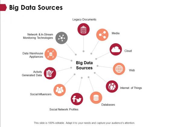 Big Data Sources Ppt PowerPoint Presentation Professional Slide Portrait
