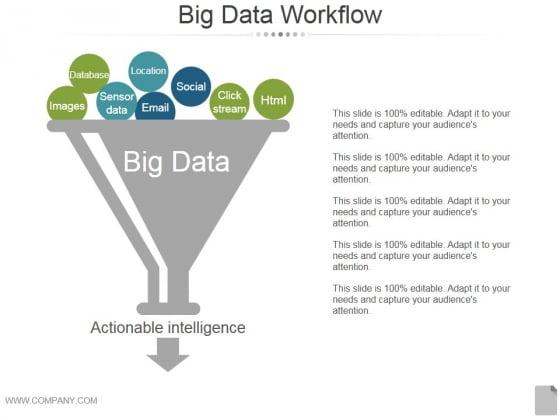 Big Data Workflow Ppt PowerPoint Presentation Gallery