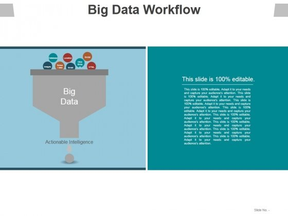 Big Data Workflow Ppt PowerPoint Presentation Summary Graphics Pictures