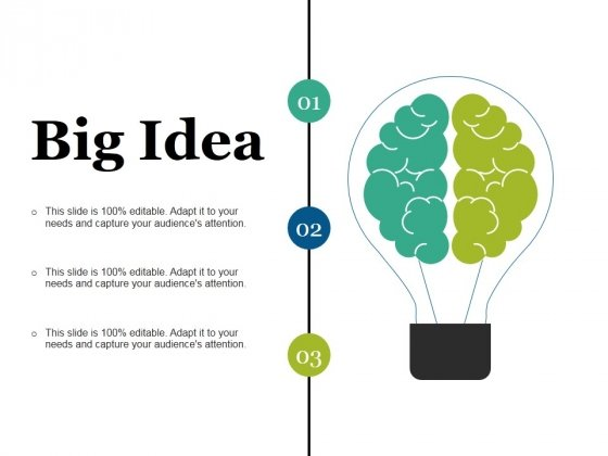 Big Idea Ppt PowerPoint Presentation Outline Summary