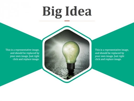 Big Idea Ppt PowerPoint Presentation Summary Images