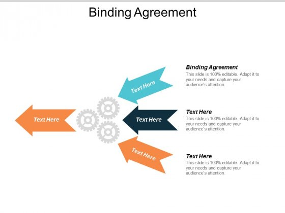 Binding Agreement Ppt Powerpoint Presentation Professional Guide Cpb
