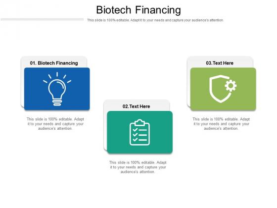 Biotech Financing Ppt PowerPoint Presentation Portfolio Format Ideas Cpb Pdf