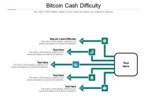 Bitcoin Cash Difficulty Ppt PowerPoint Presentation Portfolio Maker Cpb Pdf
