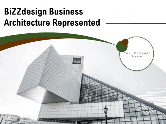 Bizzdesign Business Architecture Represented Productive Strategy Ppt PowerPoint Presentation Complete Deck