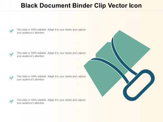 Black_Document_Binder_Clip_Vector_Icon_Ppt_PowerPoint_Presentation_Styles_Slides_Slide_1