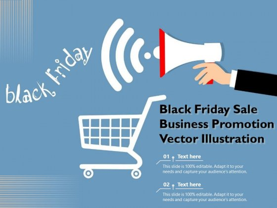 Black Friday Sale Business Promotion Vector Illustration Ppt PowerPoint Presentation Infographic Template Professional PDF