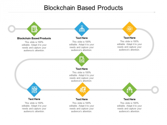 Blockchain Based Products Ppt PowerPoint Presentation Icon Background Image Cpb Pdf