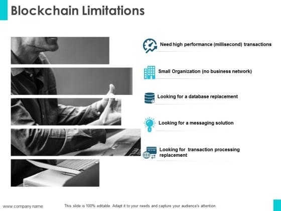 Blockchain Limitations Ppt PowerPoint Presentation File Example