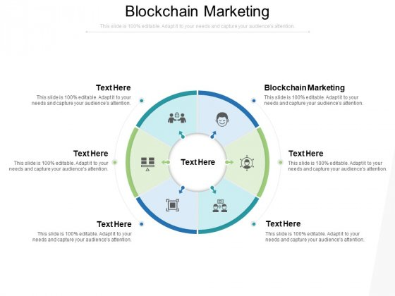 Blockchain Marketing Ppt PowerPoint Presentation Inspiration Topics Cpb