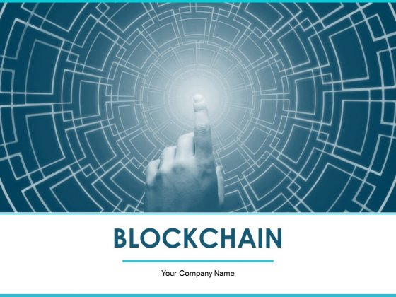 Blockchain Ppt PowerPoint Presentation Complete Deck With Slides