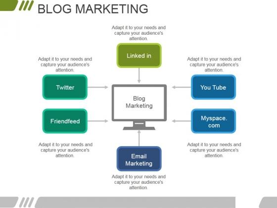 Blog Marketing Ppt PowerPoint Presentation Inspiration Graphic Tips