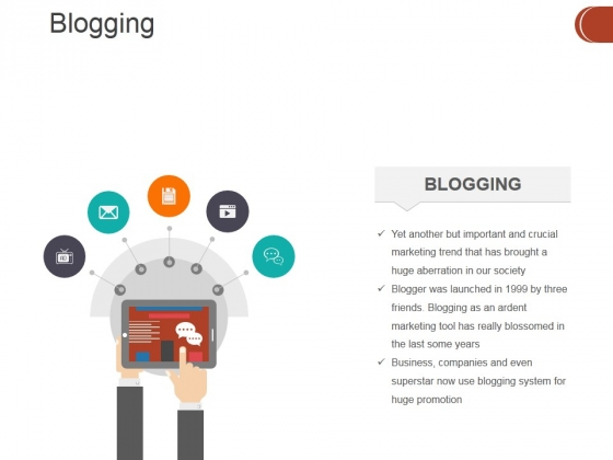 Blogging Ppt PowerPoint Presentation Gallery Inspiration
