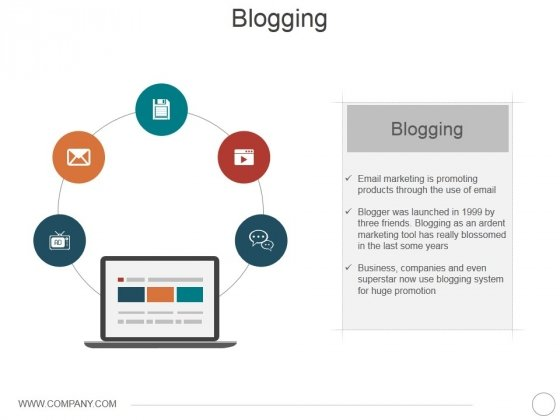 Blogging Ppt PowerPoint Presentation Styles Ideas