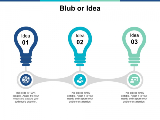 Blub Or Idea Innovation Ppt PowerPoint Presentation Guidelines