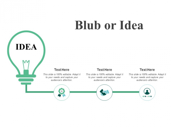 Blub Or Idea Portfolio Innovation Ppt PowerPoint Presentation Infographic Template Maker