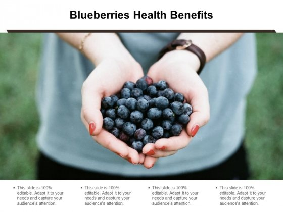 Blueberries Health Benefits Ppt Powerpoint Presentation Inspiration Samples