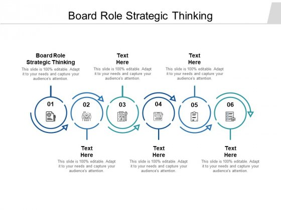 Board Role Strategic Thinking Ppt PowerPoint Presentation Infographic Template Ideas Cpb