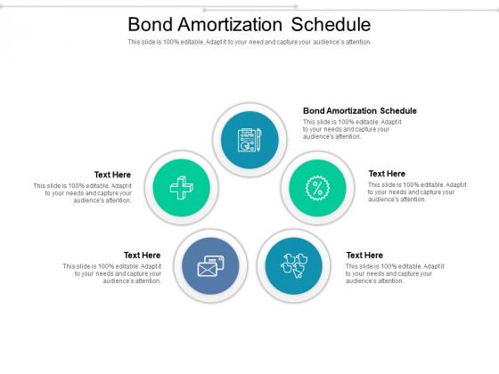 Bond Amortization Schedule Ppt PowerPoint Presentation Inspiration Design Ideas Cpb Pdf
