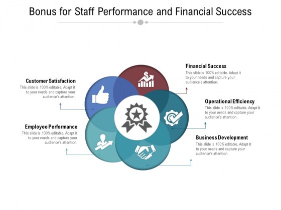 Bonus For Staff Performance And Financial Success Ppt PowerPoint Presentation Gallery Gridlines PDF