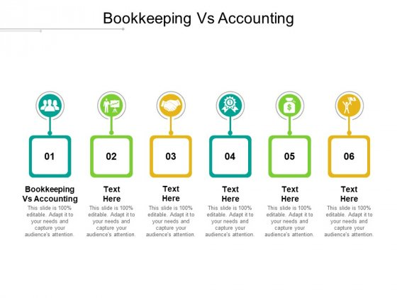 Bookkeeping Vs Accounting Ppt PowerPoint Presentation Ideas Graphic Images Cpb