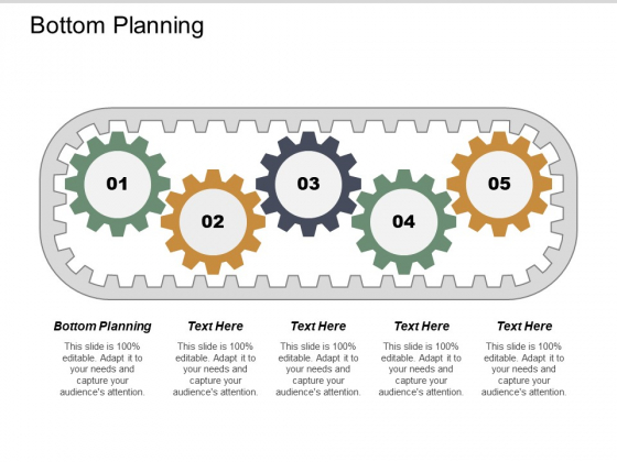 Bottom Planning Ppt PowerPoint Presentation Icon Guidelines Cpb