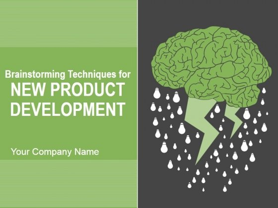 Brainstorming Techniques For New Product Development Ppt PowerPoint Presentation Complete Deck With Slides