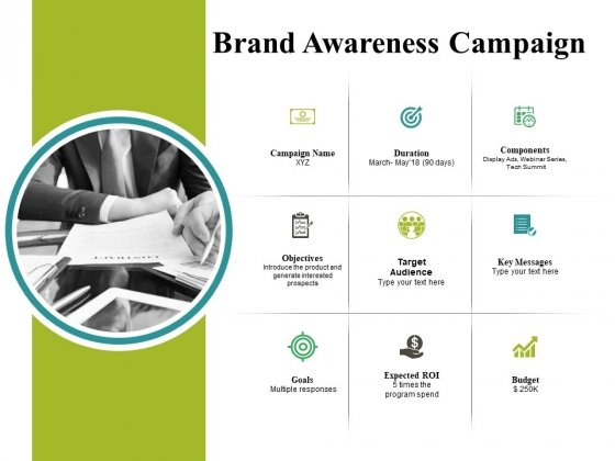 Brand Awareness Campaign Ppt PowerPoint Presentation Layout
