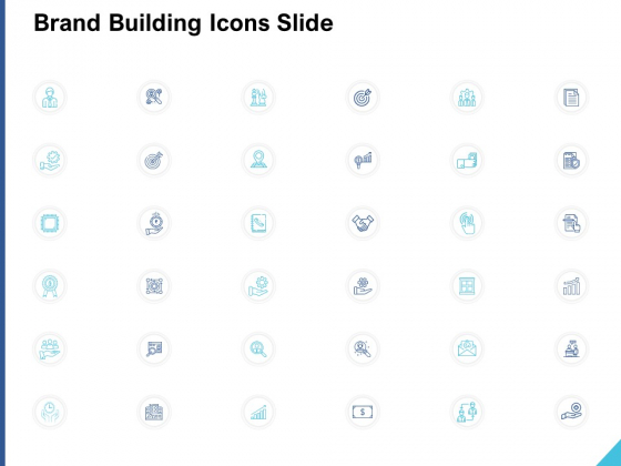 Brand Building Icons Slide Arrow Ppt PowerPoint Presentation Portfolio Good