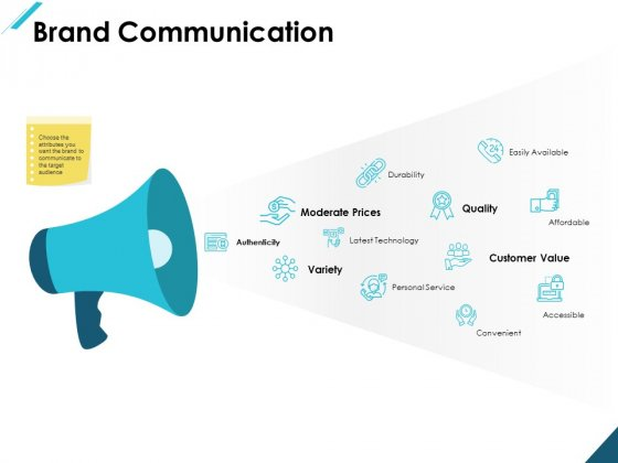 Brand Communication Quality Ppt PowerPoint Presentation Infographic Template Information