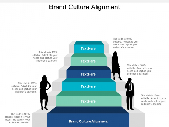 Brand Culture Alignment Ppt PowerPoint Presentation Icon Layouts Cpb