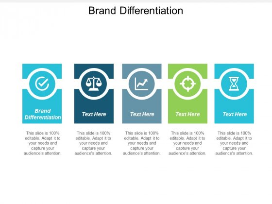Brand Differentiation Ppt PowerPoint Presentation Styles Ideas Cpb