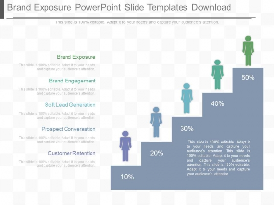 Brand Exposure Powerpoint Slide Templates Download