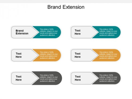Brand Extension Ppt PowerPoint Presentation Model Deck Cpb