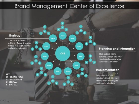 Brand Management Center Of Excellence Ppt PowerPoint Presentation Summary Skills