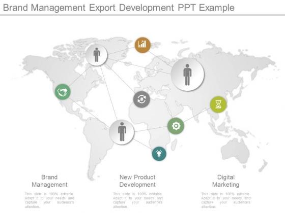 Brand Management Export Development Ppt Example