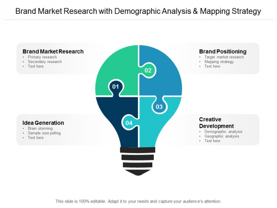 Brand Market Research With Demographic Analysis And Mapping Strategy Ppt PowerPoint Presentation Gallery Ideas