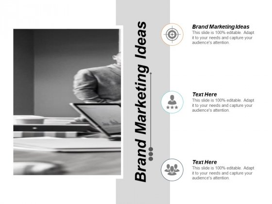 Brand Marketing Ideas Ppt PowerPoint Presentation Show Layouts Cpb
